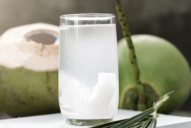 Coconut water face