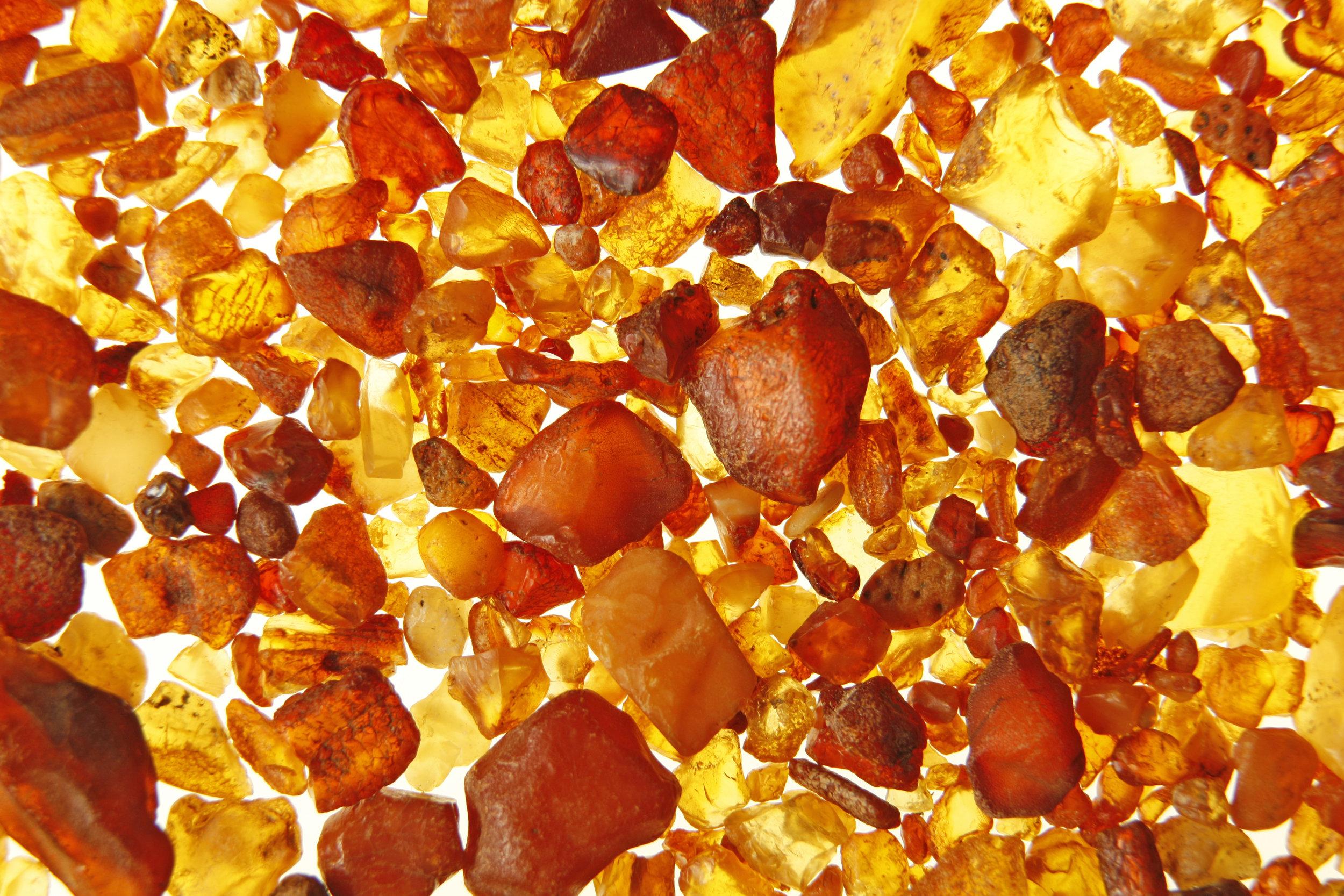 Amber skin