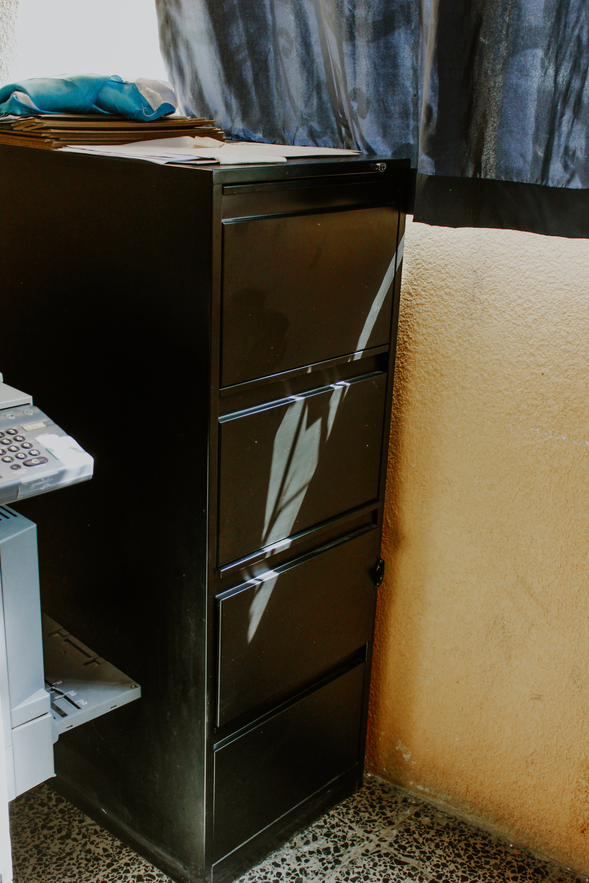 Filing cabinets - 3 at $153 apiece