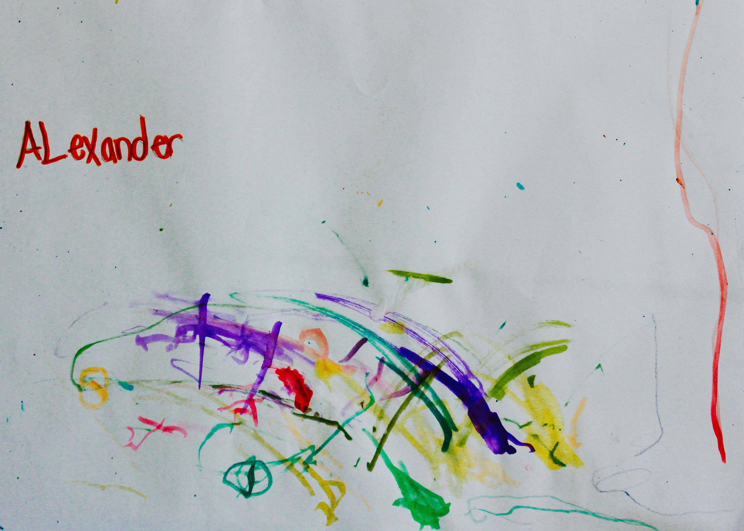 Alexander, preschool