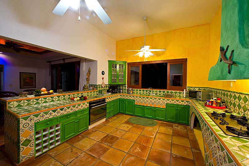 A great kitchen is a major plus on family vacations.