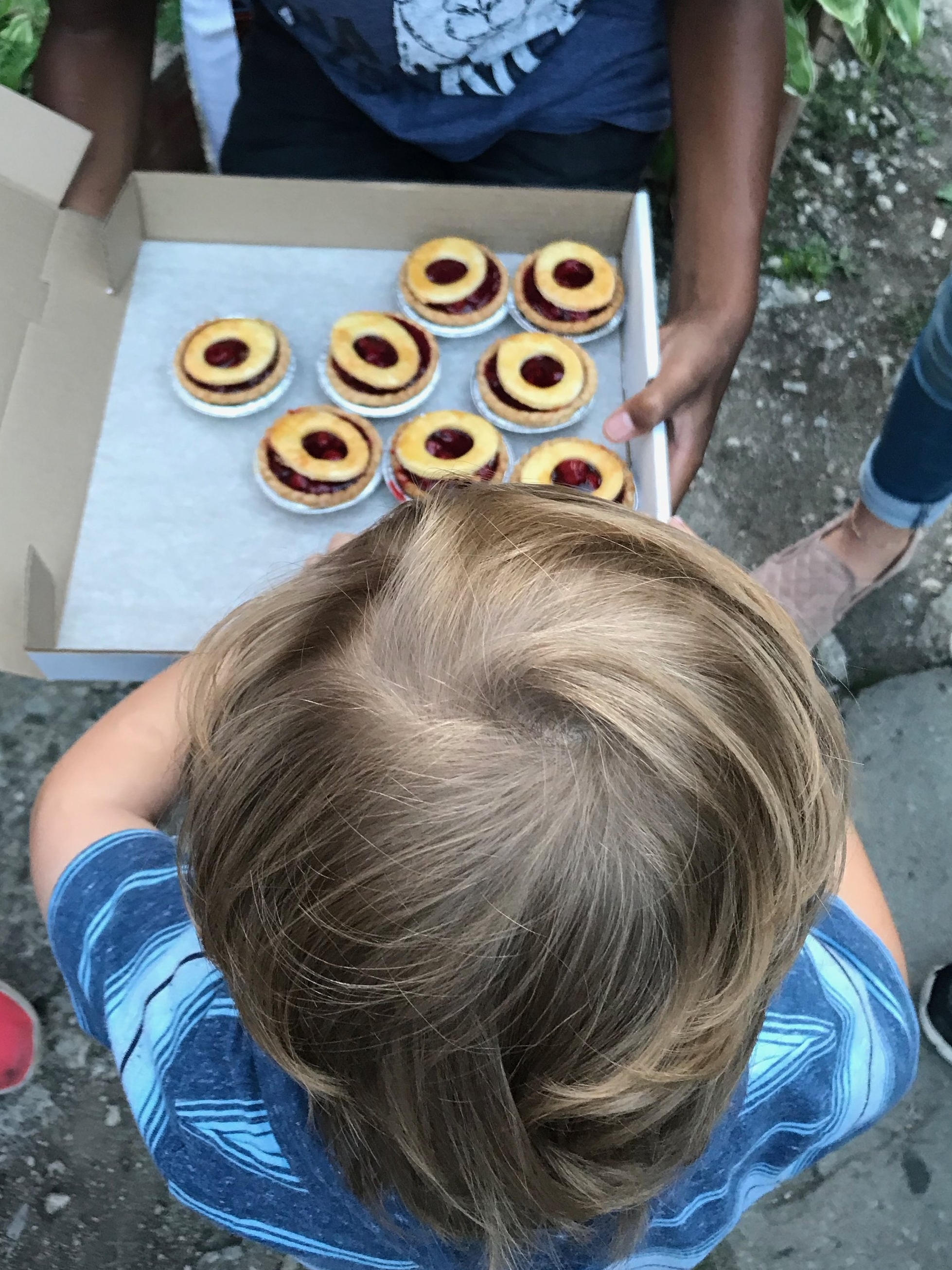 Yes please:  Sour cherry pies on Culinary Adventure Co.'s food tours were a big hit. T also tried wild blueberries, a Cuban torta, and fried squid.