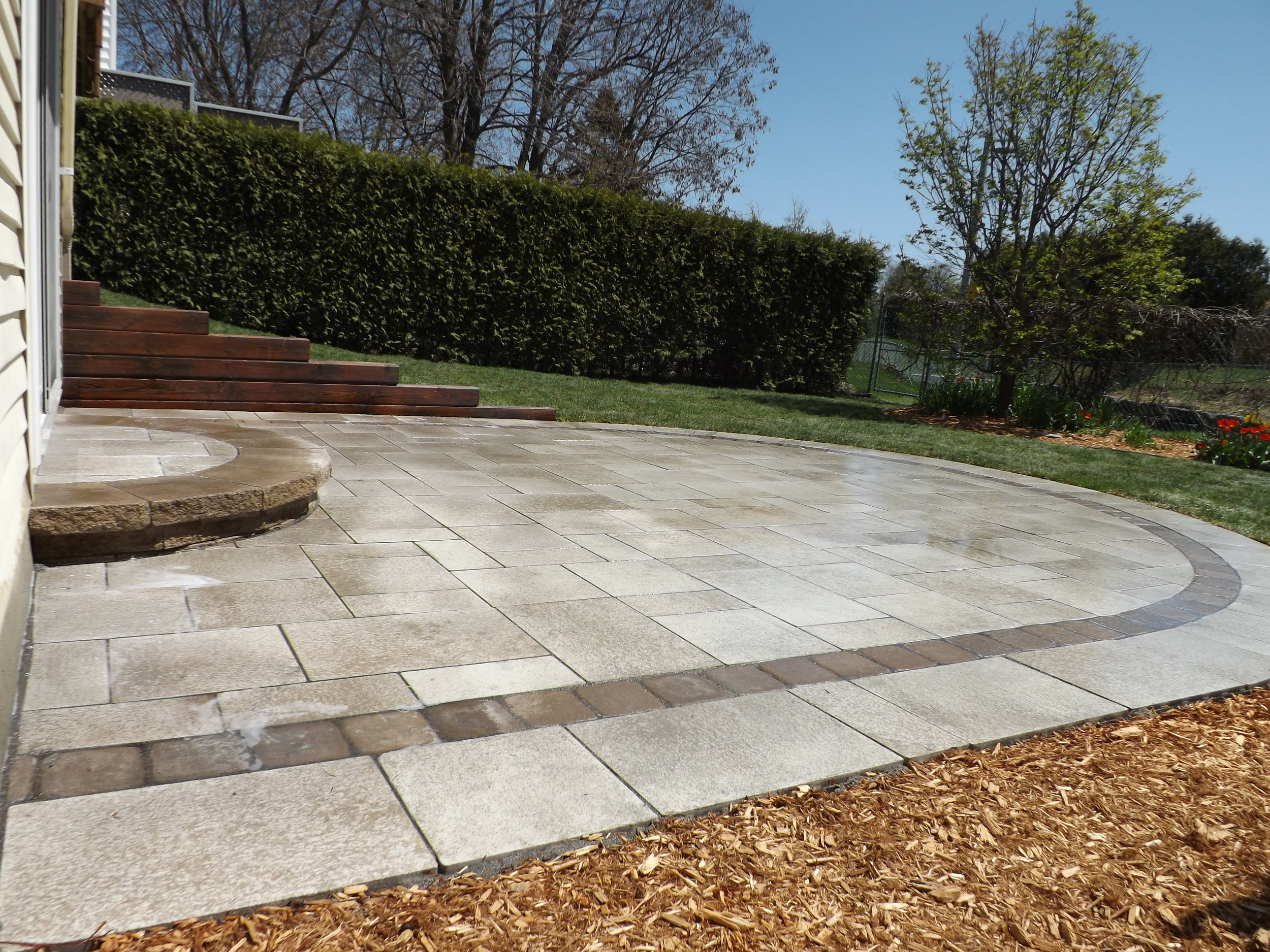 Interlock Pavers   Interlock pavers can add beauty to your front, side, and backyard that can stand up to our climate in Ottawa.