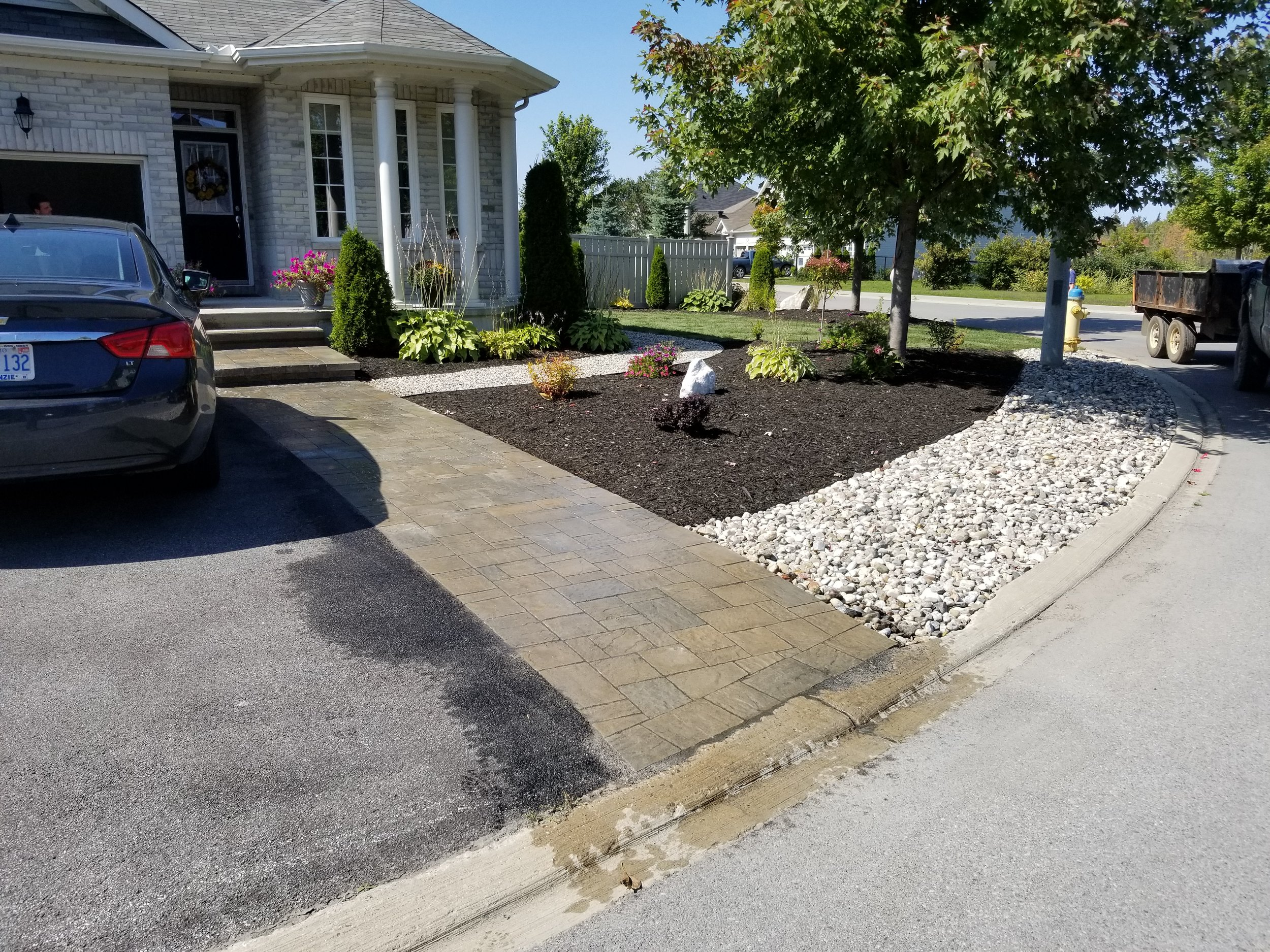 Softscape   From Gardens to Sod install let us beautify your property one job at a time.