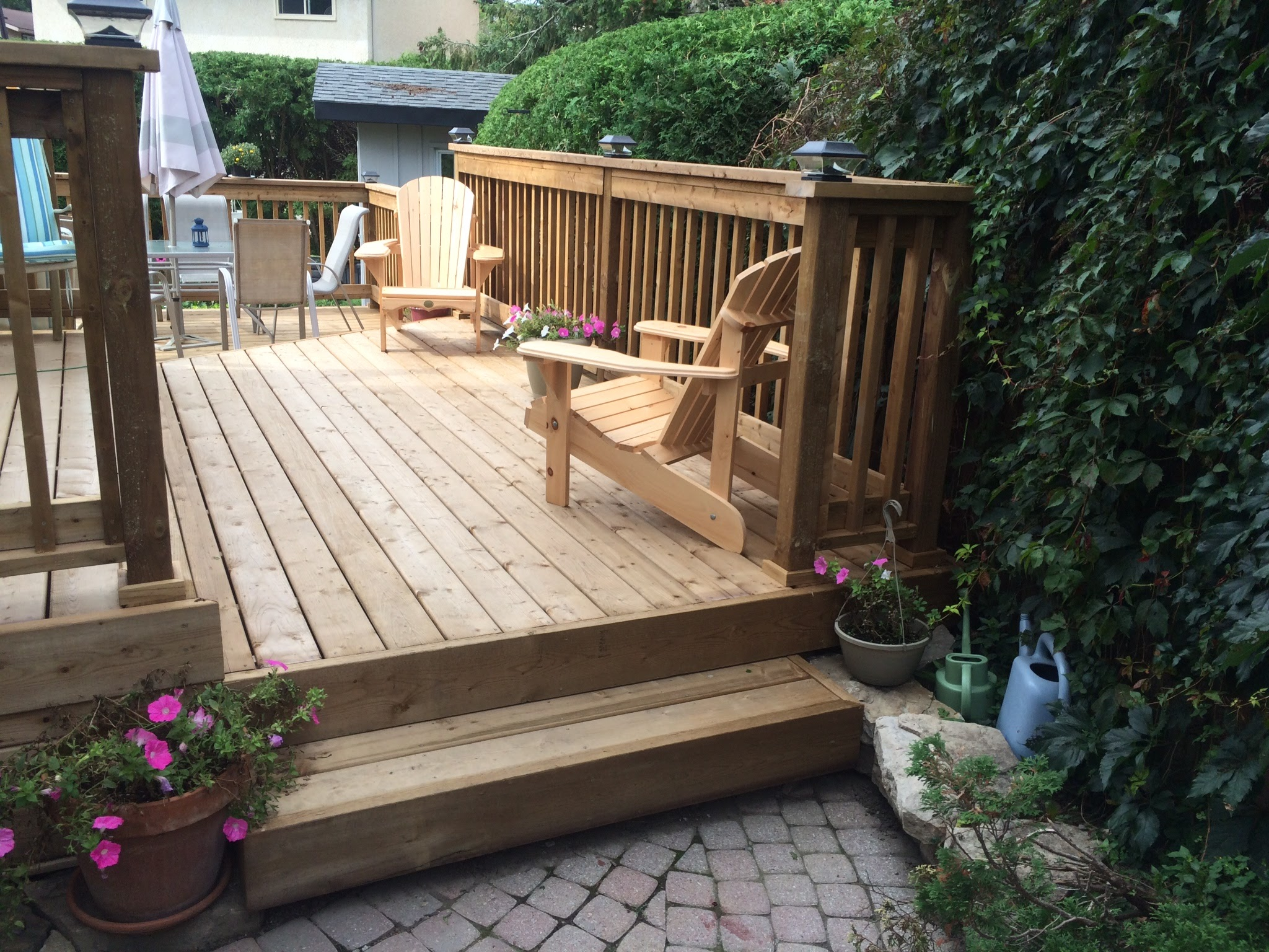 Decks   From Composite to wood we are ready to install your dream deck to create a beautiful paradise in your backyard.
