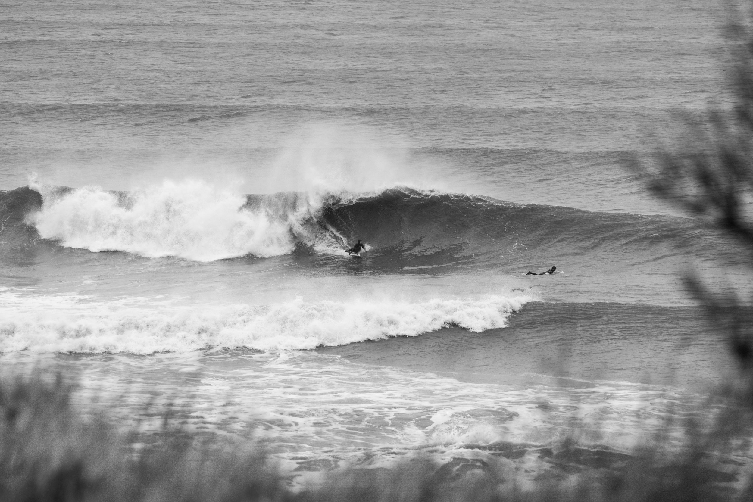 The North East coast gets plenty of swell in the winter months. I was equal parts nervous and excited about this day a couple of months ago.