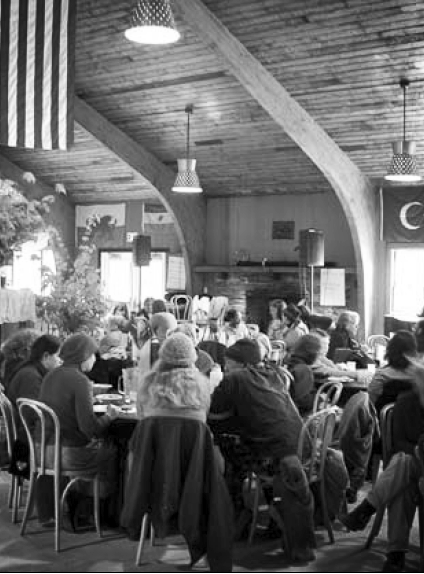 Photo from the second Dandelion Gathering in 2006. Thanks to Reclaiming Quarterly for permission to use photos.