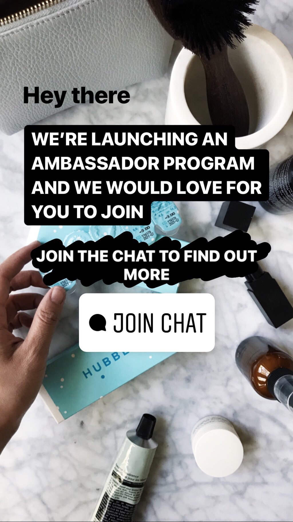 Reach out to ambassadors.