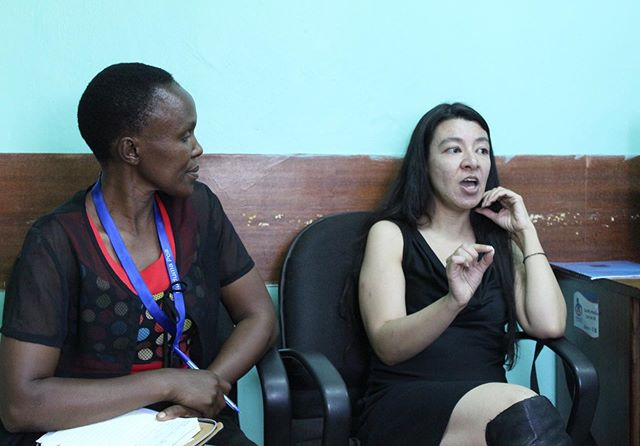 Our Executive Director Michelle Skaer Therrien has been working in Kenya this week and visited Kmet Kenya to discuss one of the health conditions we work in, the detection and treatment of Cervical Cancer. Great work Michelle!  #cervicalcancer #kenya #executivedirector