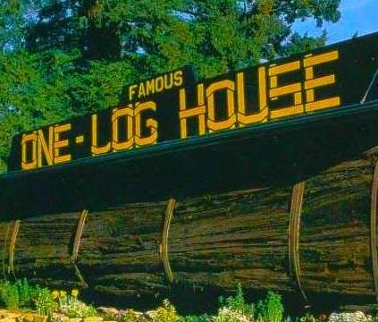 one log house - Humboldt's First Espresso & Gift Shop When Driving North! Just 3 minutes from the Humboldt / Mendocino County Line.705 US Highway 101