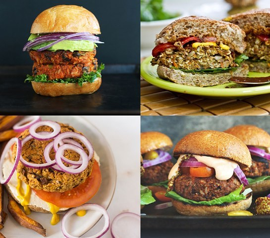 Plant based veggie burger round up on the site today veggie burgers from @ohsheglows @minimalistbaker @forksoverknives . . #plantbased #veggieburger #plantpowered #vegan #cleaneating
