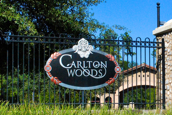 Carlton Woods - One of the most prominent neighborhoods within the Village of Sterling Ridge, is Carlton Woods.