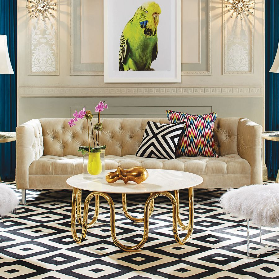 fabulous-gold-coffee-tables-living-room-4-midcentury-modern-with-tufted-sofa-and-unique-white-table-on-patterned-rug.jpg