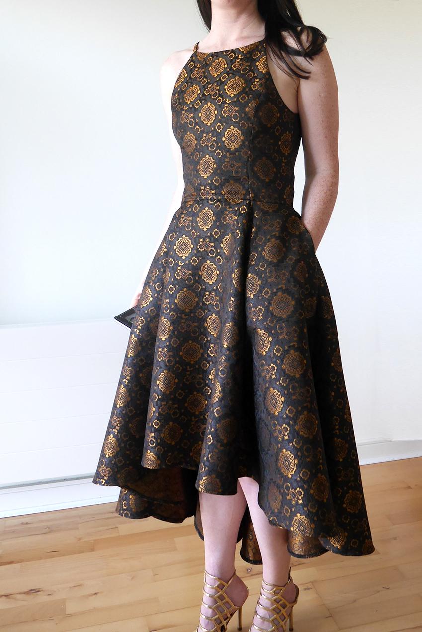 Party Dress V9252 front LBD crop.jpg