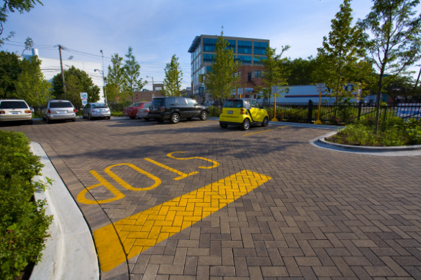 Benefits of Masonry Contractors Using Mechanical Pavers for Large Commercial Projects in Canton, MI