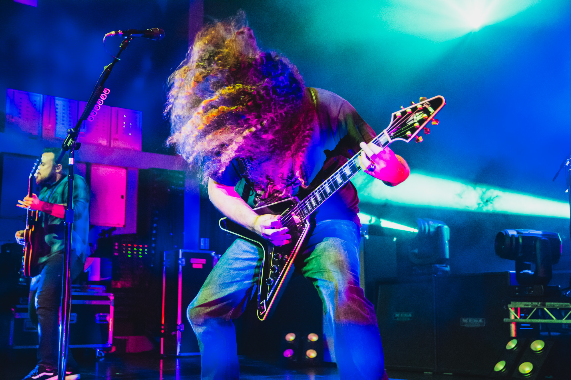 Coheed and Cambria live at O2 Academy, Birmingham