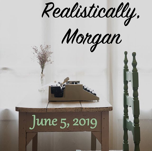 Realistically, Morgan is up! If you haven't read it yet, head over to the site. 📖📝