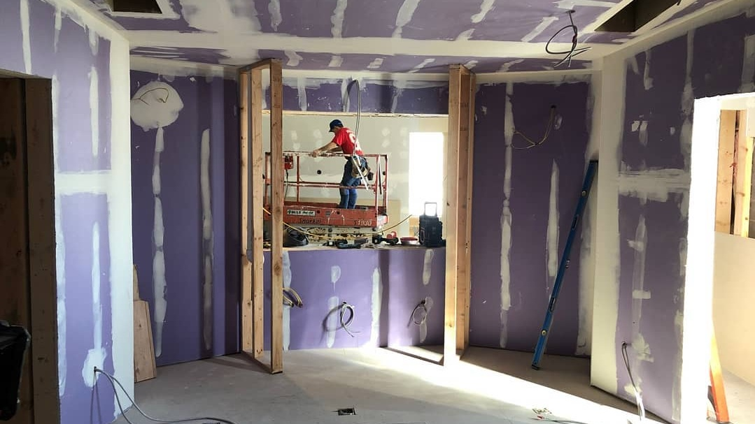 Live Room Construction | The Metro Detroit Recording Studio |