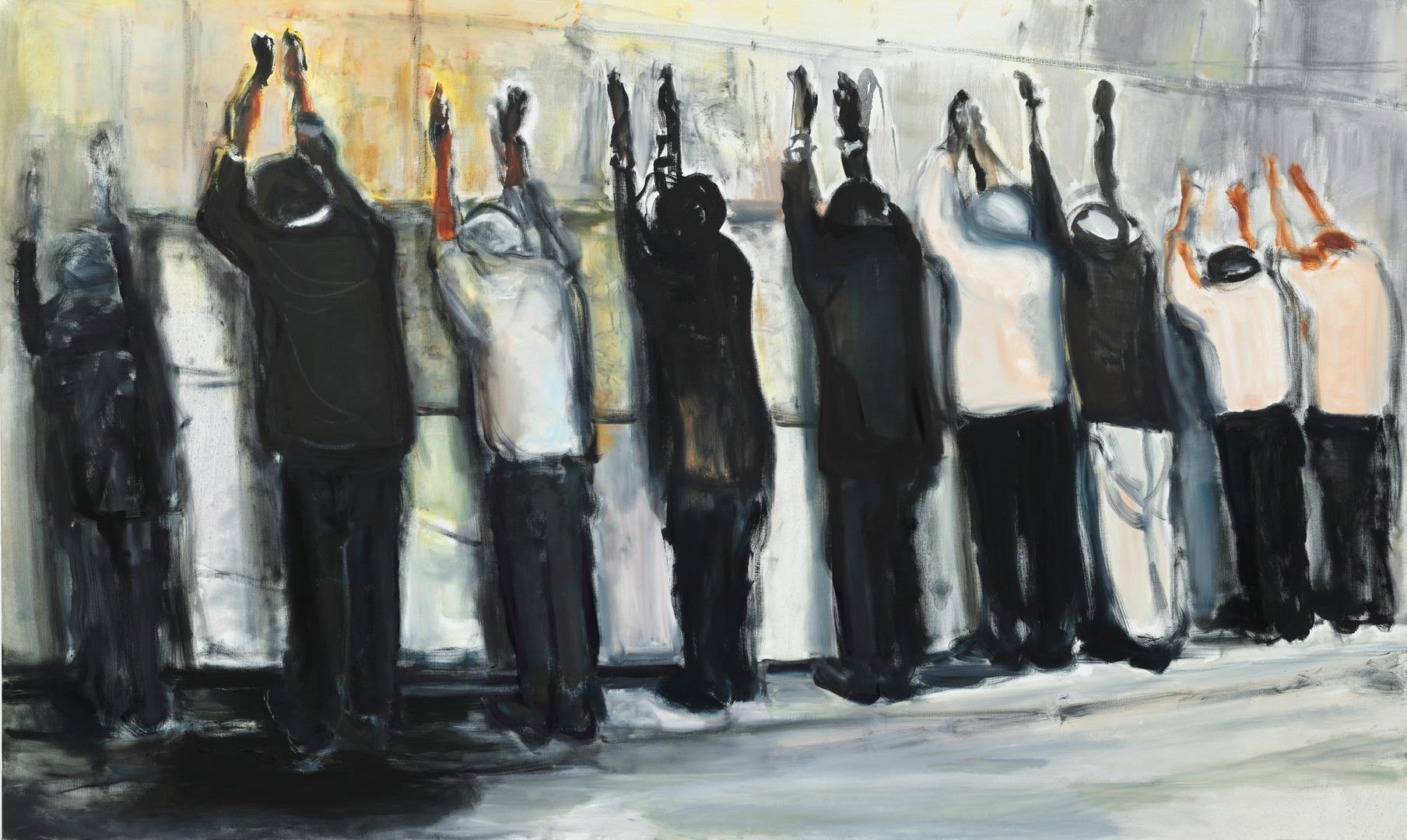Wall Weeping - Marlene Dumas (2009)