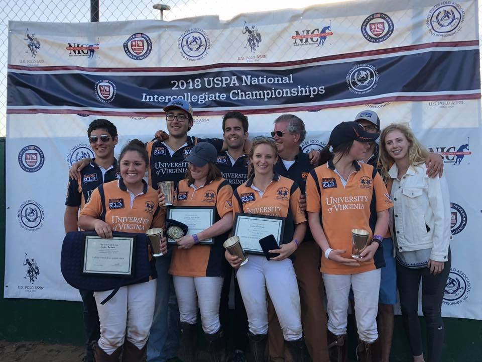 The UVA Women's Varsity team earned second place in the 2018 USPA Intercollegiate Championships. The Men's team took third.
