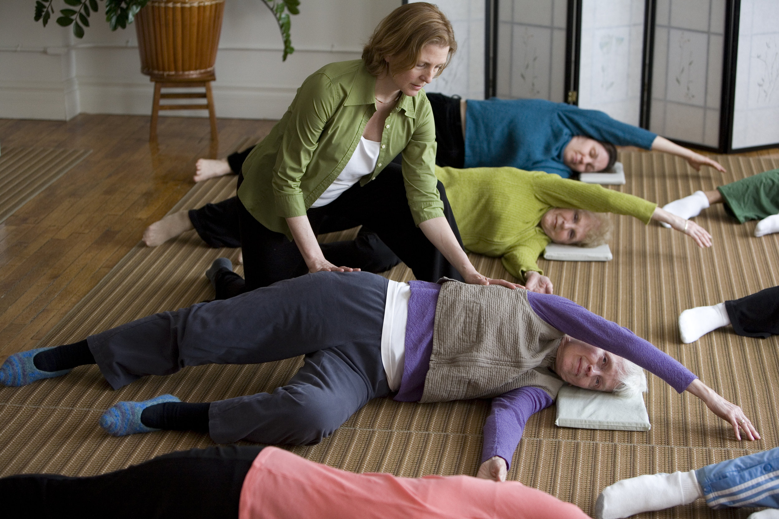 WHAT IS FELDENKRAIS?  Learn more about this movement practice with an unsual name.