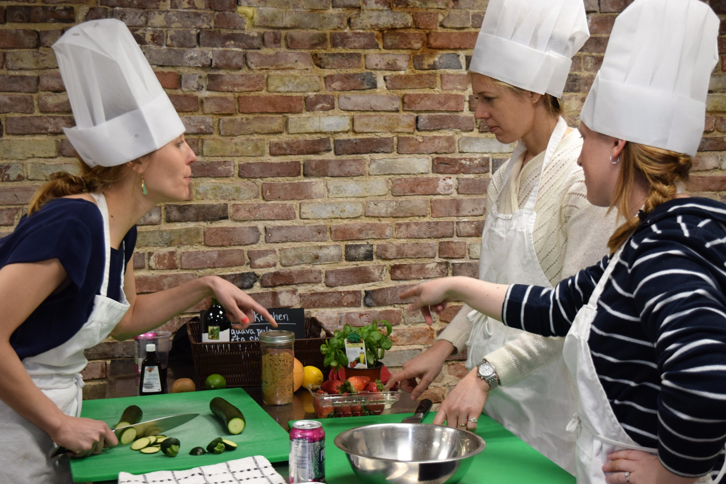 Bachelorette cooking competition dessert teamwork