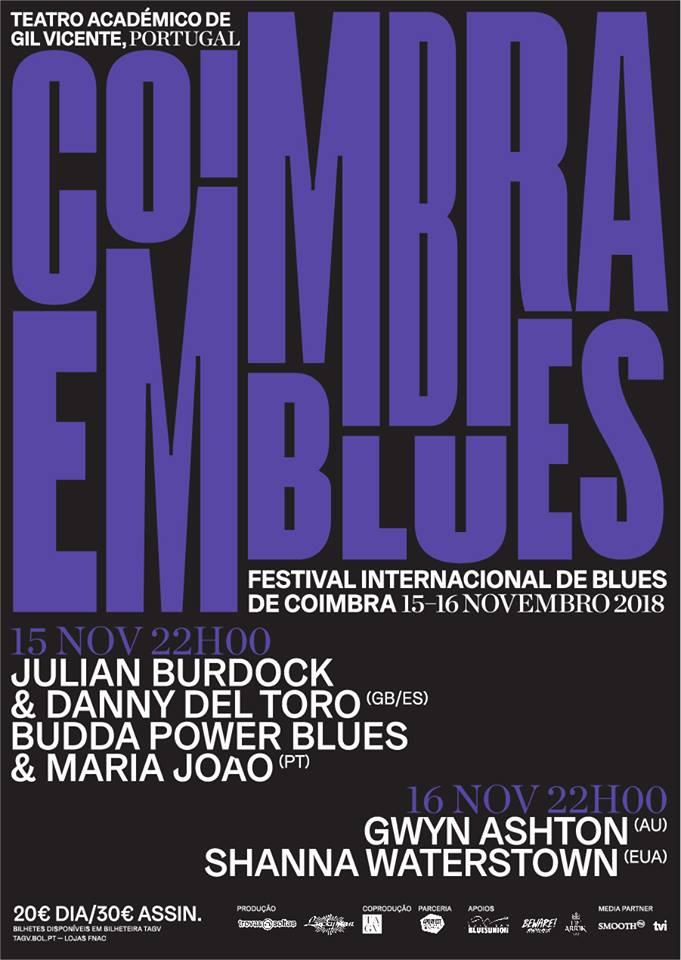 Coimbra em Blues 2018