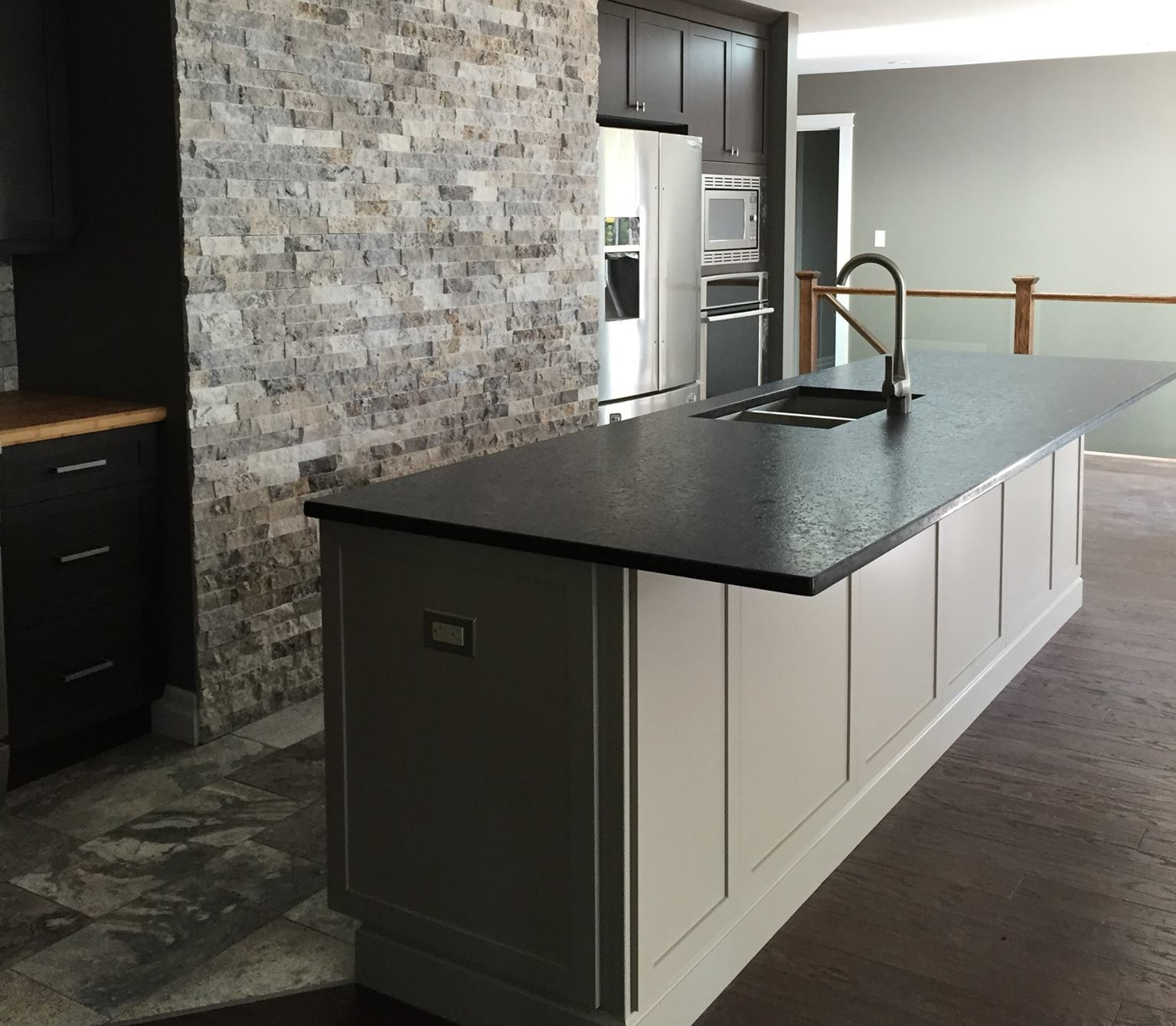 Leathered Kodiak Brown Granite
