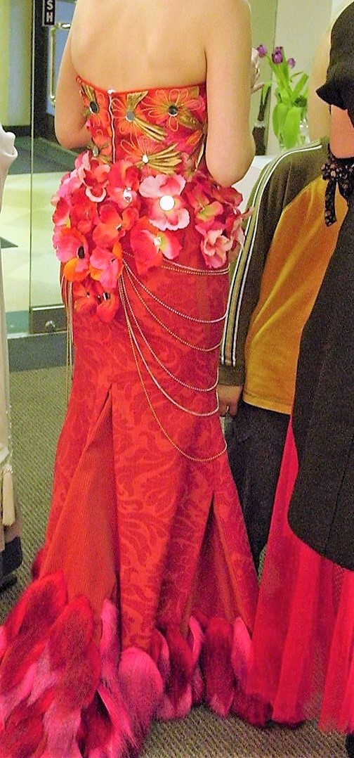 pink fur dress back view.jpg