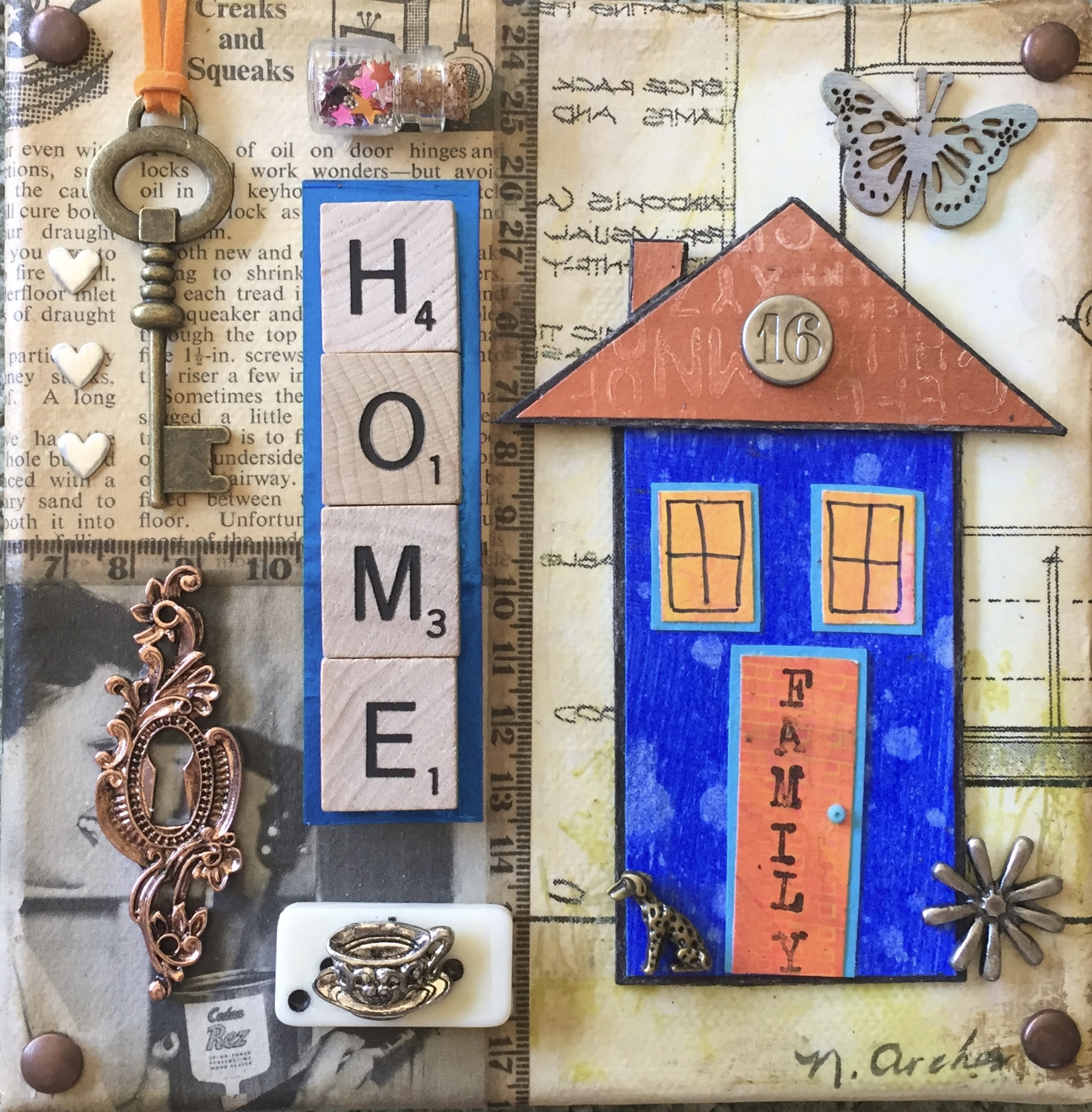 "- Home6"" x 10"""