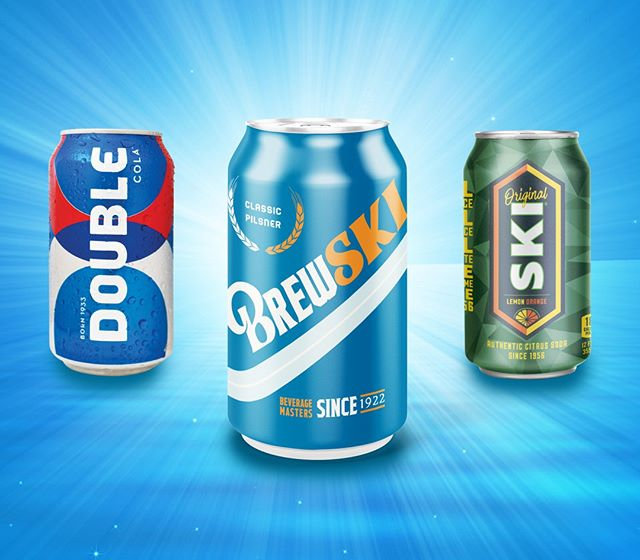 Introducing the latest addition to The Double Cola Company Family: BREWSKI! @brewskibeers is for those above the age of 21 and is for those who enjoy SKI Citrus Soda and drinking beer. Follow along on the BREWSKI social channels for more (Must be 21+ to follow).