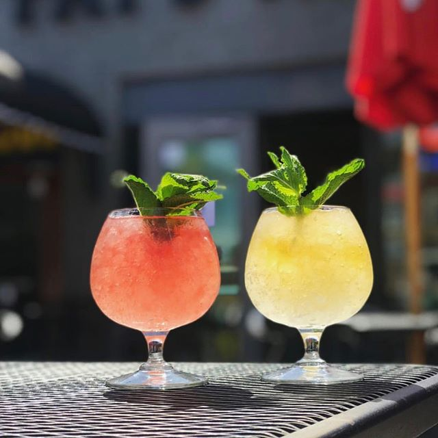 Beat the heat with some drinks at Pat's Tap this week! 🍷 🍹