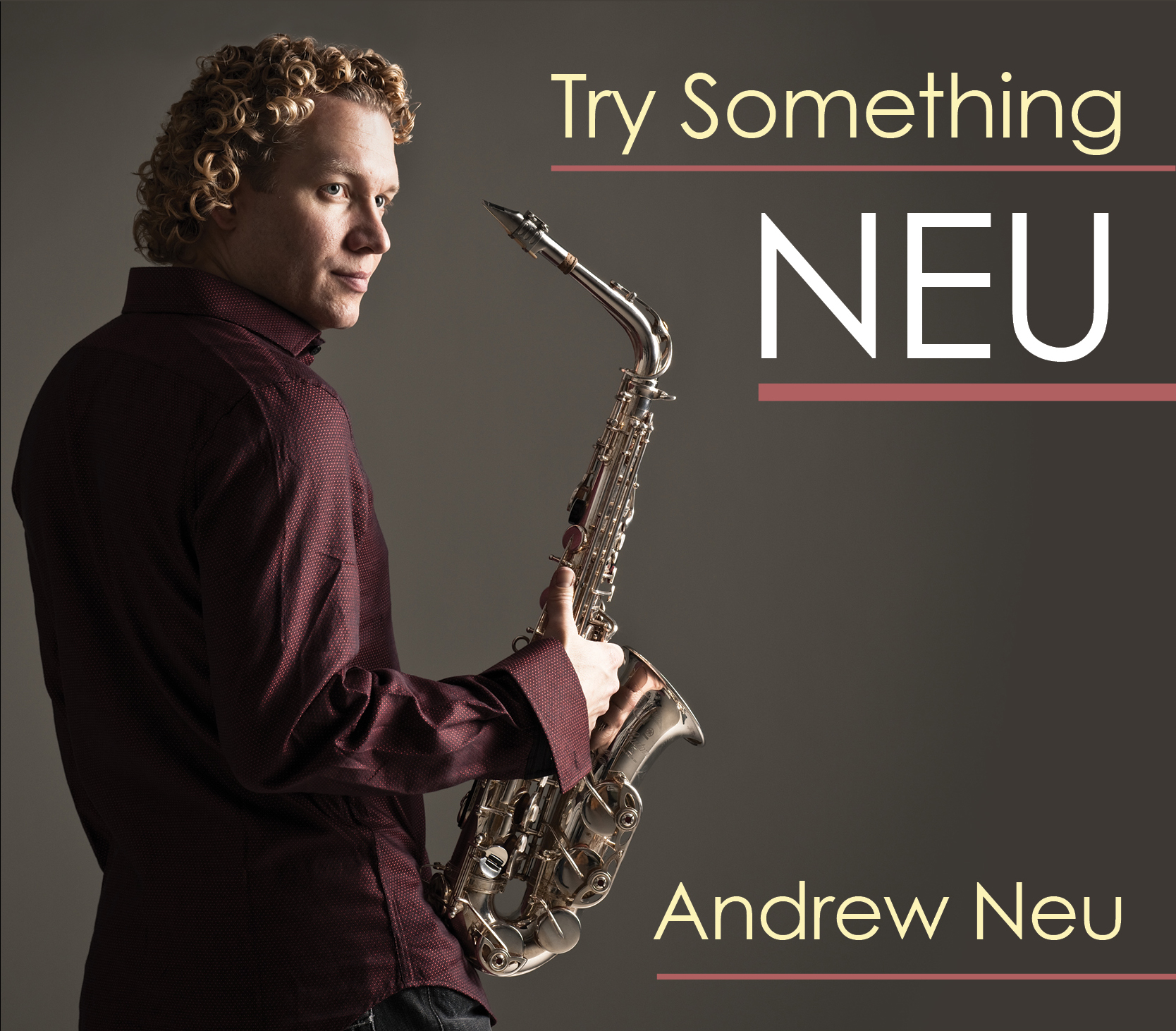 Andrew's sax playing on his third CD,  TRY SOMETHING NEU , is stronger than ever and shows off his real jazz chops. For this release, he brings together the dream team of producers, Brian Bromberg, Chuck Loeb and Gerald Veasley. Each presents their own style of music; you hear a little LA, NYC and Philly vibe. With the ever present Bright and Tight Horns as well as the brilliant vocals of Bobby Caldwell, Andrew's debut on NuGroove Records immediately hit the top 20 on the smooth jazz charts.