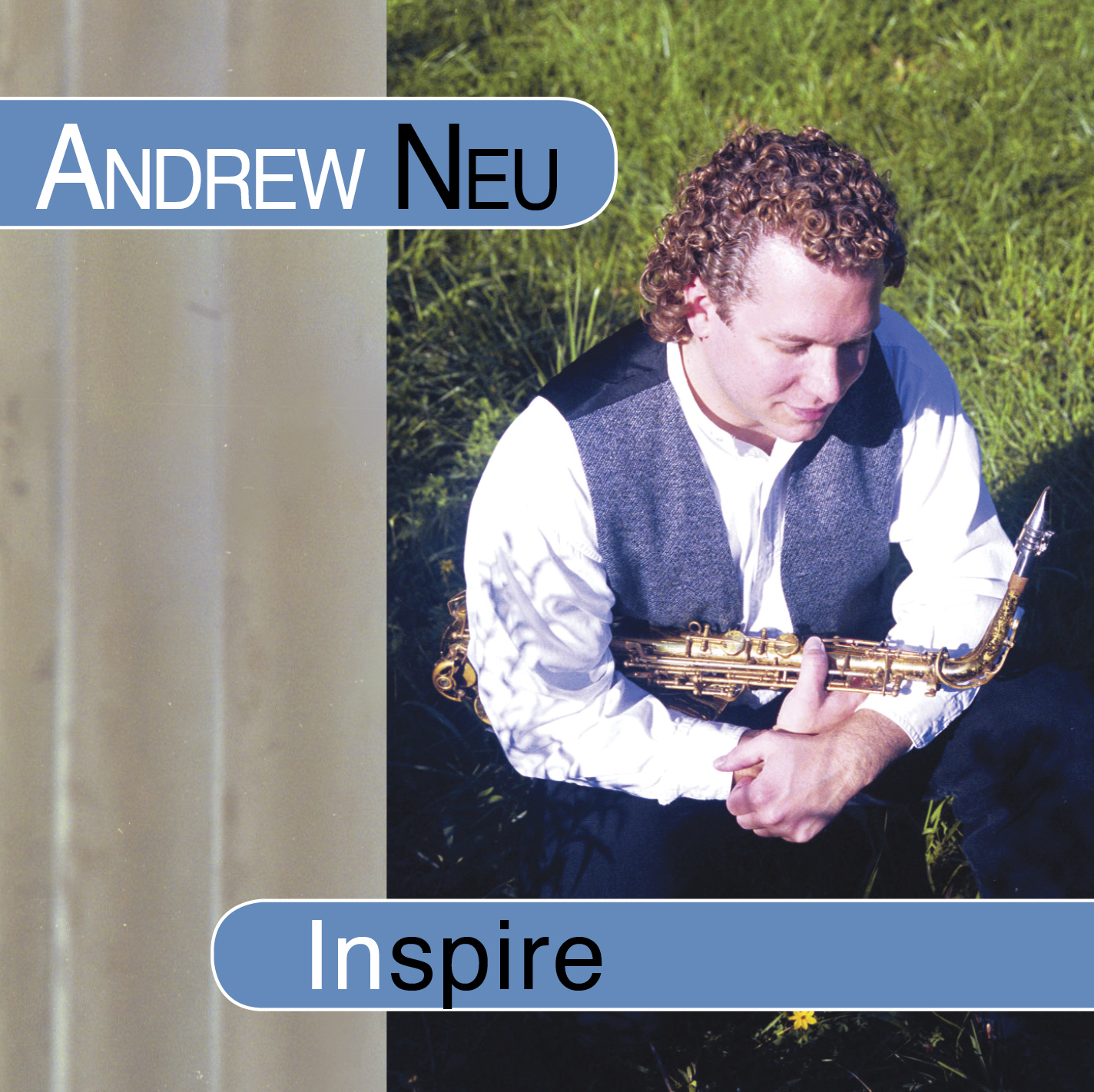 Andrew's first CD,  INSPIRE , was released in 2000 and brought together some of the best musicians of the Philadelphia/Atlantic City area. This album put him on the national scene and several tracks have remained mainstays on smooth jazz radio to this day. Pooling all of his talent and experience, this eclectic and adventurous project is highlighted by strong compositions. This album was the debut of the Bright and Tight Horns which became a signature of his sound. Andrew's insistence on using real instruments ensured that INSPIRE will stand the test of time.