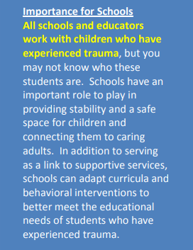 Quick Fact, Unlocking the Door to Learning: Trauma-Informed Classrooms & Transformational Schools - Education Law Center