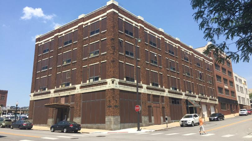 The McCaffrey building at 420 South 18th Street is no longer threatened wit demolition.
