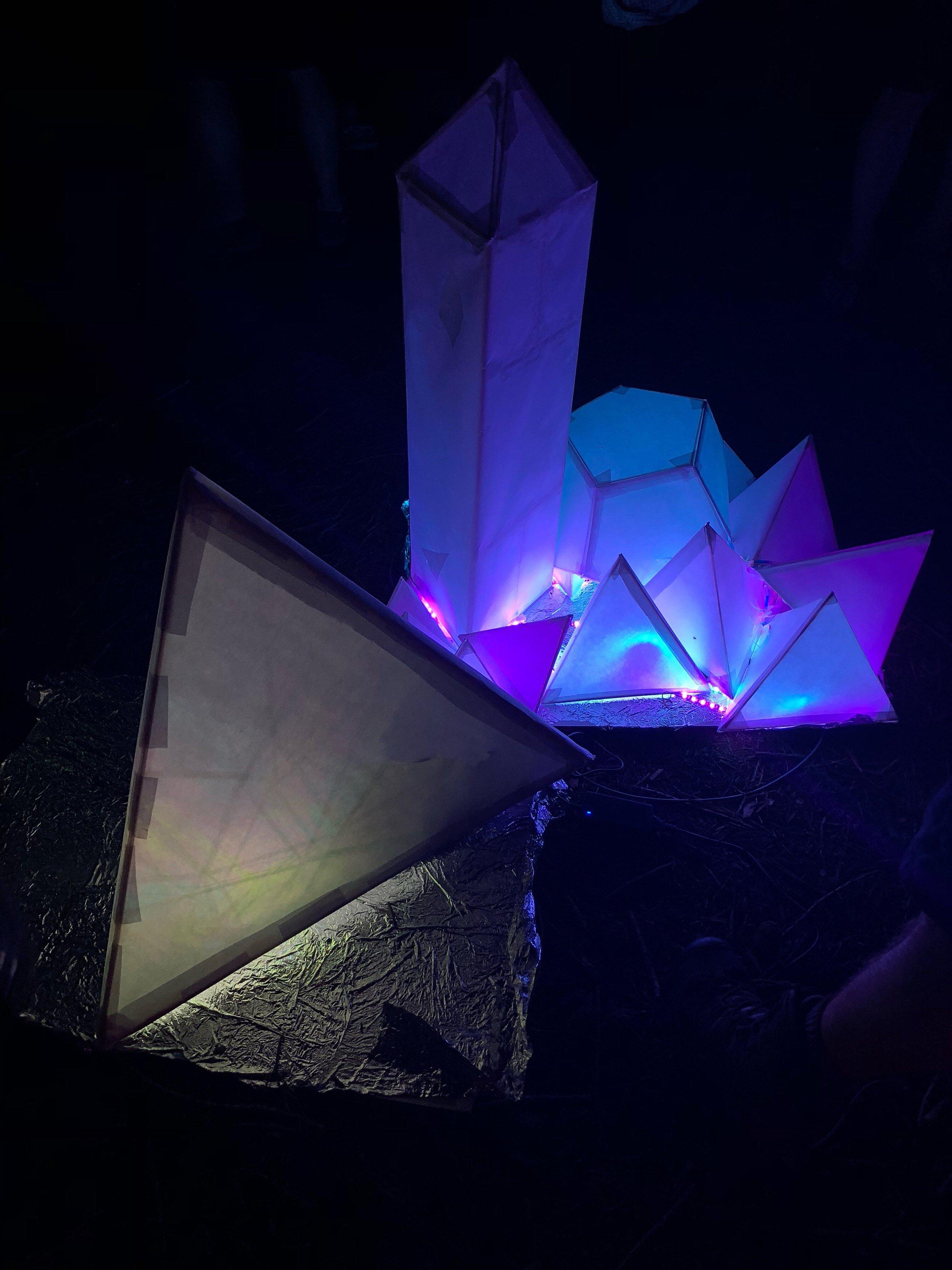 Crystal Cave   Installation @ Lusio, Volunteer Park   2018