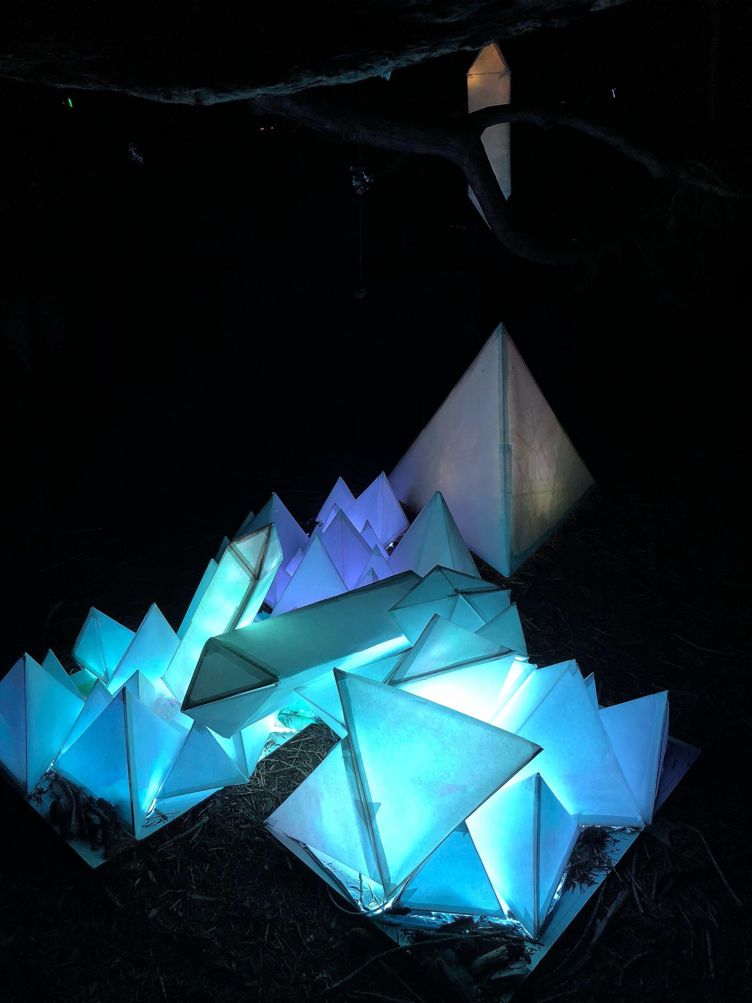 Crystal Cave | Installation @ Lusio, Volunteer Park | 2018