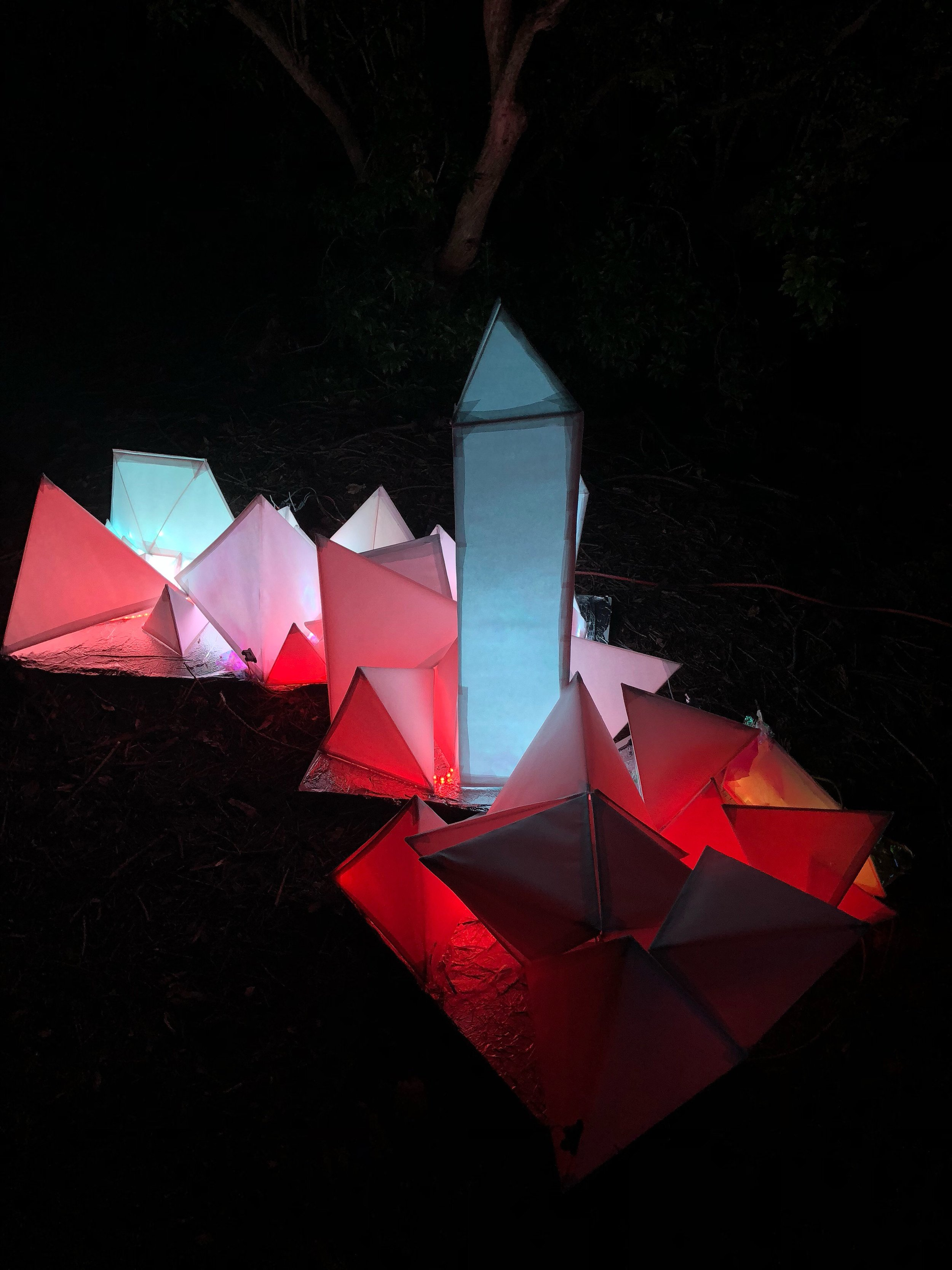 Crystal Cave | Installation @ Lusio, Volunteer Park | 2018