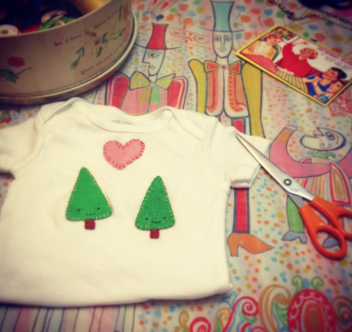 Tree Love Baby Onsie