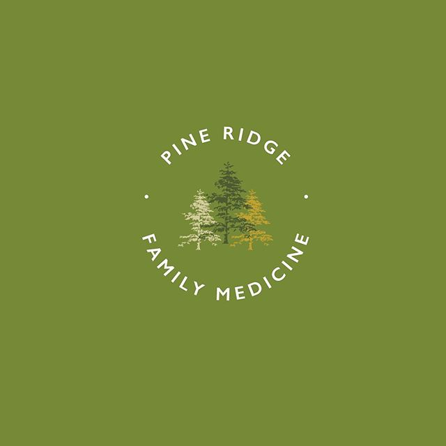 """Presenting... the new Branding + Marketing for Pine Ridge Family Medicine 🌲🏥 I always debate on whether or not I should post the """"before"""" when I rebrand a business, however I will spare my Doc and refrain from sharing his OG clip art logo design 😉 ⠀ ... ⠀ If you are an independent business owner like myself, or someone interested in affordable health care options, do a quick Google search on Direct Primary Care near you. I have been without medical coverage for 3+ years now, and Dr. V at PRFM has been AMAZING, affordable and everything I need out of a Doctor. I'm also v thankful he let me reBrand his practice after 3 years of nagging him — lol"""