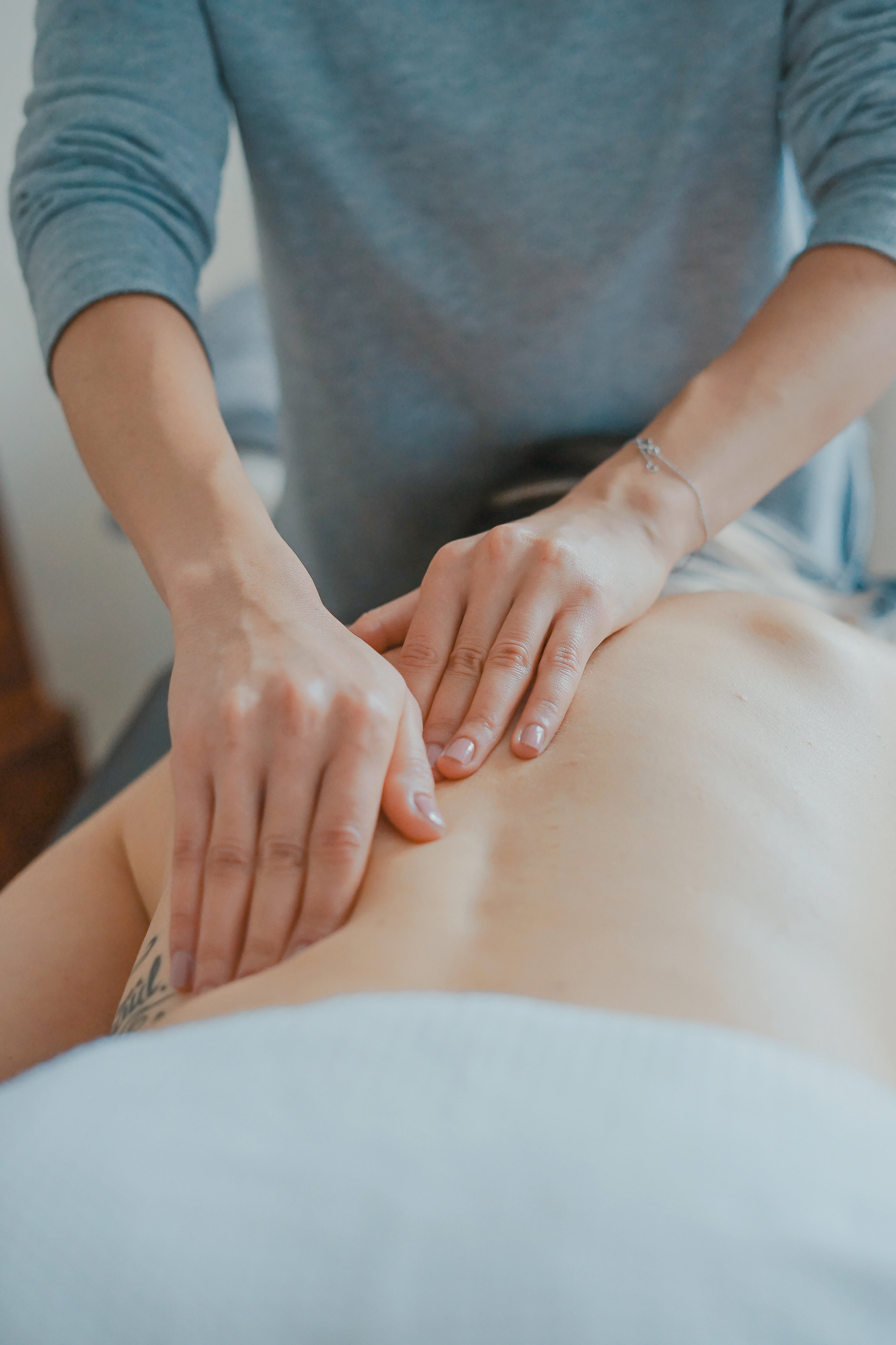 - Swedish massage uses firm but gentle pressure to promote relaxation, ease muscle tension and create other health benefits. It is a classic massage that will ease your stress and allow you to slip into a calm state of relaxation.
