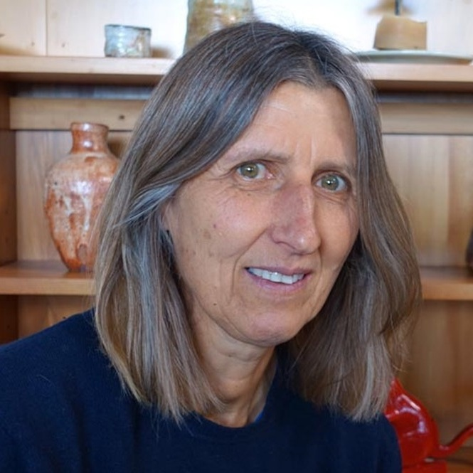 "Elena Renker President   ""I became a member at ASP in 1998 reconnecting with clay after a long break. I love the friendly atmosphere at the centre, the clay community, the exchange of knowledge. It is a unique and wonderful place. The focus of my work has been on wood fired shino glazed domestic ware and Japanese style tea ware. A few years ago I build a wood fired kiln at my place north of Auckland where I fire most of my pots.""   Elena's website"