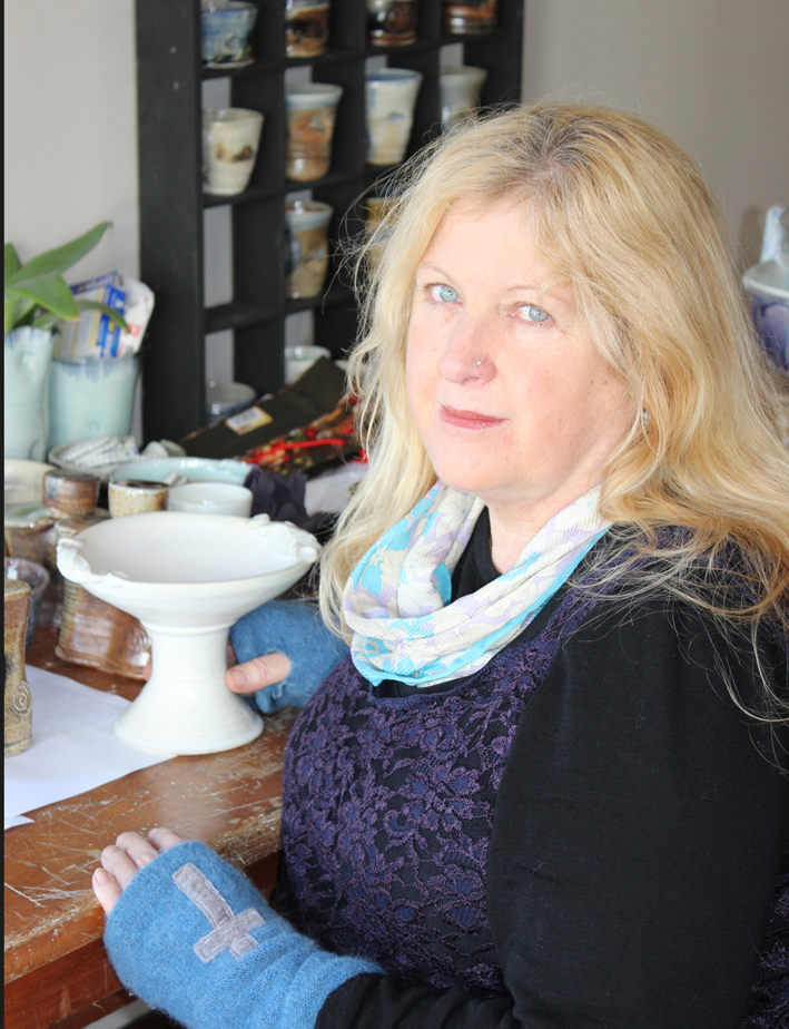 Ann O'Sullivan Monday Evenings Assistant Tutor   Ann has been making ceramics and teaching for the past 20 years.  She studied with Otago Polytech for The Diploma of Ceramic Arts.  She works from her studio and gallery in Devonport.  She enjoys making pieces that can be used in everyday life.