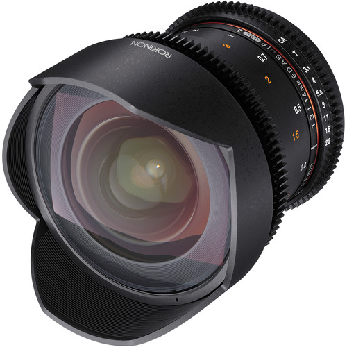 Rokinon Cine DS 14mm T3.1 - Lens Distortion Premiere Preset