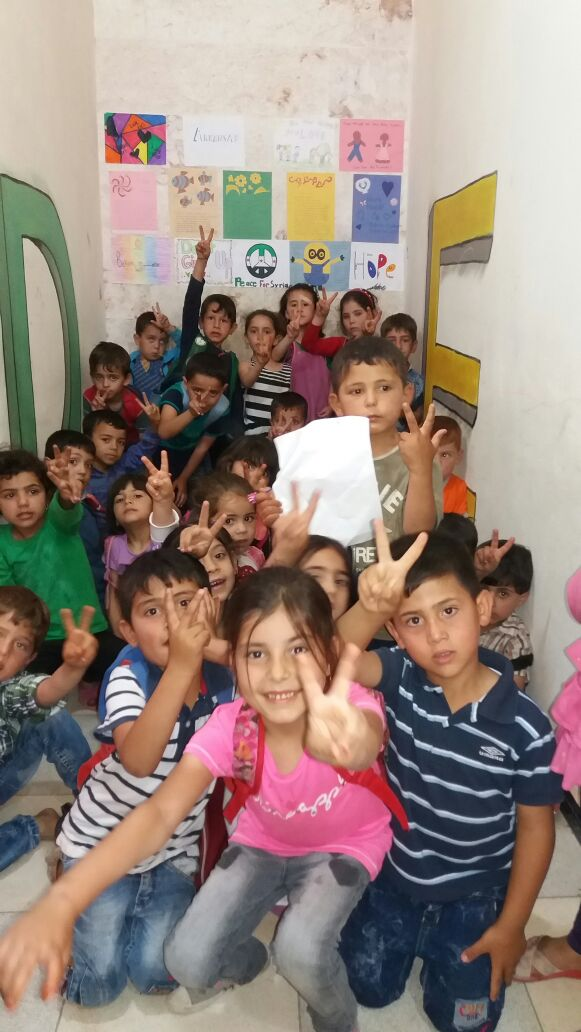 Letting the Syrian people know they are not alone... - Letters of Hope Webpage