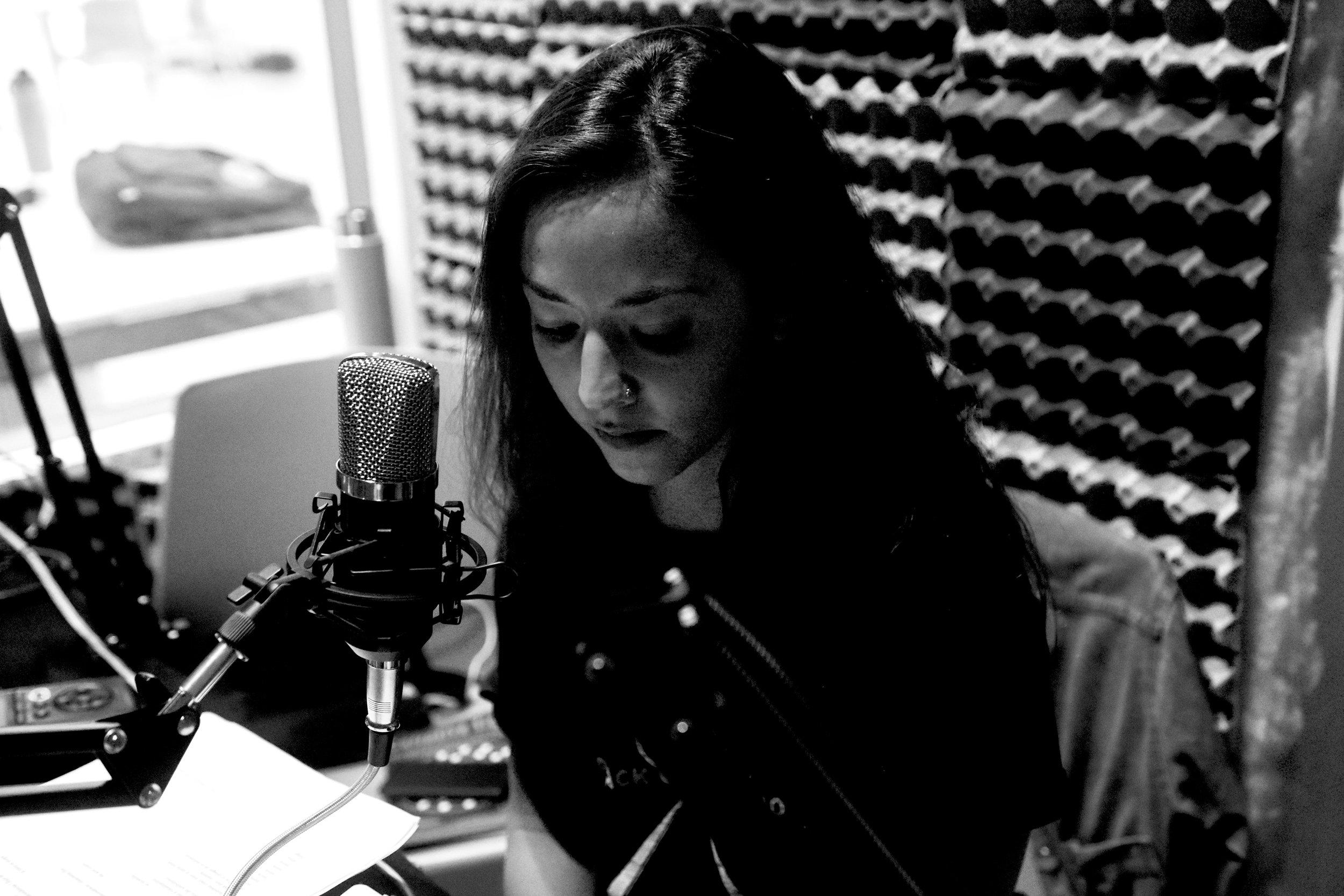 RadioRufino Lucia Hinojosa Adriana Camacho.JPG