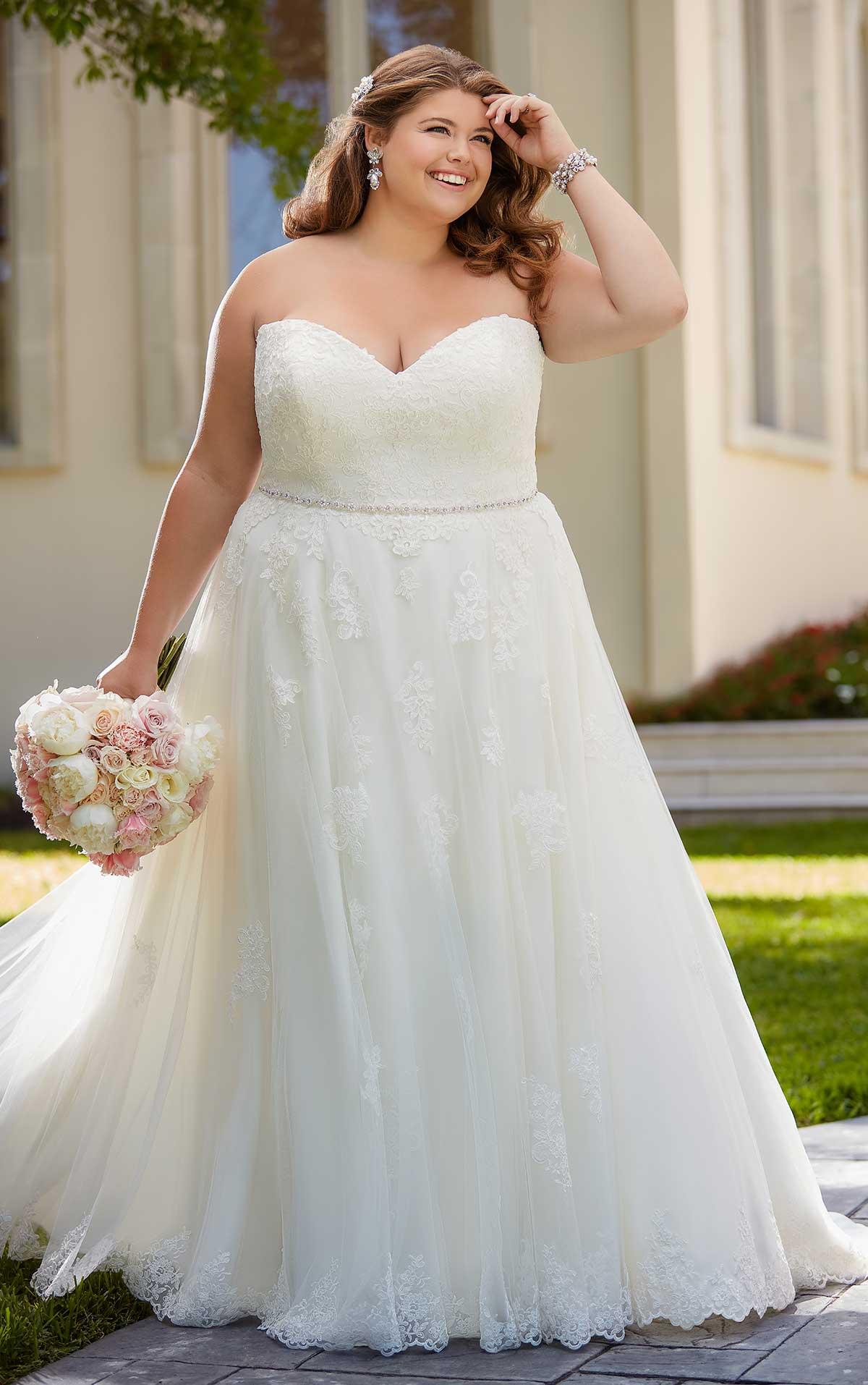 Plus Size wedding dress | blush bridal | Baton Rouge wedding dress store