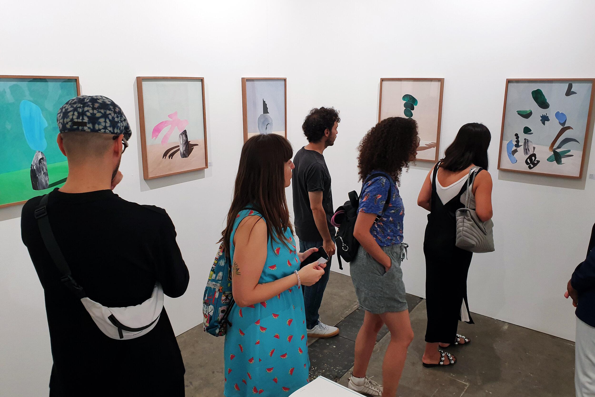 SWAB Barcelona Art Fair 2019   Ina Jang September 26 – September 29, 2019