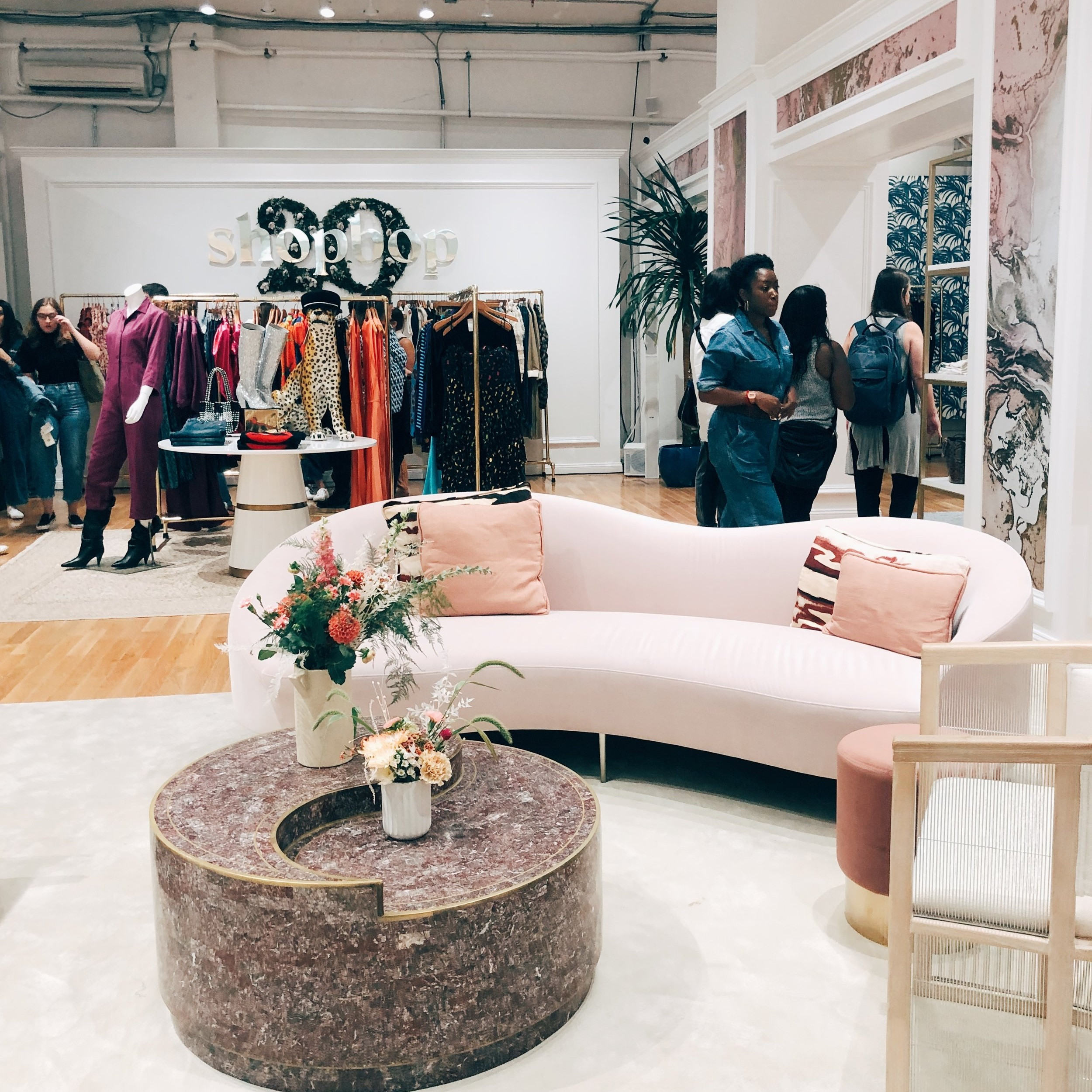 THE RISE OF THE EXPERIENTIAL POP-UP - Experiential continues to win big across adland -- and fashion marketers are making good use of it. Shopbop and Mejuri pop-ups are among the most popular events that influencers planned on attending during NYFW. The brands have deliberately (and unapologetically) designed these spaces to be Instagram friendly. Influencers are swarming like bees to honey.